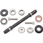 Surly Ultra New Hub Axle Kit for 120mm Rear Fix/Fix Black
