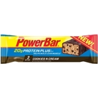 PowerBar Protein Plus: Cookies and Cream; Box of 15