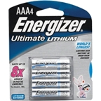 Energizer AAA Lithium Battery: 4-Pack