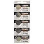 Energizer CR2016 Lithium Battery: Card of 5
