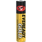 Eveready Gold AAA Alkaline Battery: 4-Pack