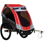 Burley Solo Child Trailer, Red 2015 Model