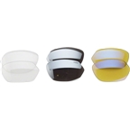 Lazer EC1 Interchangeable Lens Kit: Silver-mirror, Clear and Yellow