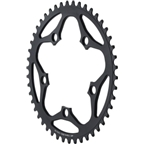 Dimension 46t x 110mm Outer Chainring Black