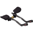 Profile Design T3+ Carbon Aerobar Black with F-35 Armrest and J4 Bracket