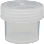 Nalgene Straight Side Wide Mouth Jar: 2oz; Clear