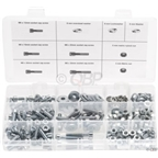 6mm Fastener Kit - 310 Pieces10 Different Parts Bolt Lengths 12 to 35mm