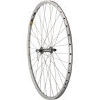 Quality Wheels Pavement Front Wheel 700c 36h Shimano LX / Mavic A319 / DT Champion All Silver