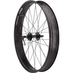 "Quality Wheels Fat Series Front 26"" 32h Salsa 135mm Disc / Rolling Darryl / DT Competition All Black"
