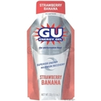 GU Energy Gel: Strawberry/Banana; 8-Pack