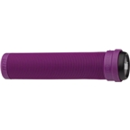 ODI Flangless Longneck Grips Purple 143mm