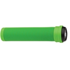 ODI Flangless Longneck Grips Green 143mm