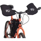 Bar Mitts Handlebar Mittens for Mountain Flat Bars with Mirrors