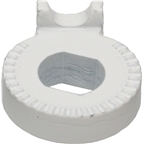 Nexus/Alfine Track-type Dropout Left Non-turn Washer, 6L White