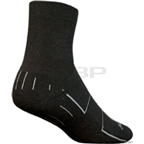 SockGuy Wooligan Sock: Black