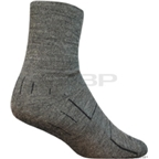 SockGuy Wooligan Sock: Charcoal