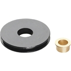 Problem Solvers Cable Pulley Aluminum Black