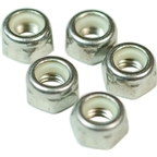 Wheels Manufacturing M5 Nylock Hex Nut Stainless Bottle/100