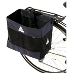 Axiom Hunter DLX Shopping Pannier: Each; Black