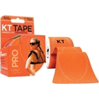 KT Tape Pro Kinesiology Therapeutic Body Tape: Roll of 20 Strips; Blaze Orange