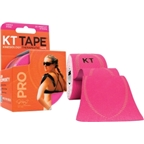 KT Tape Pro Kinesiology Therapeutic Body Tape: Roll of 20 Strips; Hero Pink
