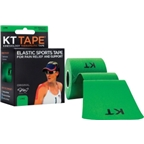 KT Tape Kinesiology Therapeutic Body Tape: Roll of 20 Strips; Lime