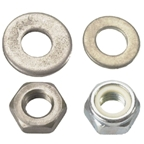 Silca 73.6 Metal Nut & Washer Plunger Spacer: Pista, Super Pump
