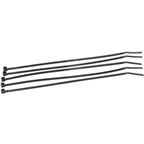 "Zip Tie 2mm x 6"": Black; Bag of 100"