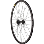 "Quality Wheels Mountain Disc Rear Wheel 26"" Surly 6 bolt / Mavic XM719d / DT Competition All Black"