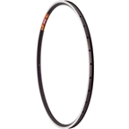 Velocity Dyad 700c Rim 32h Black with Machined Sidewall