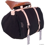 Banjo Brothers Minnehaha Canvas Saddle Bag: Black; MD