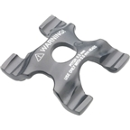 Campagnolo .5mm tpi. Record Lower Clamp Black