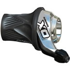 SRAM X.0 10 speed Rear Twist Shifter Silver