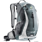 Deuter Race X Backpack: Granite/White