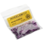 Wheelsmith 2.0 x 12mm Purple Alloy Nipples, Bag of 50