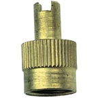 Rema 37 Metal Valve Cap with Core Tool