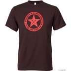 Mechanical Threads Trail Builder T-Shirt: Brown