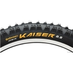 "Continental Der Kaiser DH Tire26 x 2.5"" Steel Bead Black Chili"