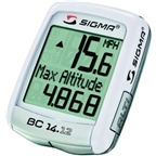Sigma BC 14.12 Cycling Computer: White