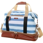 Po Campo Midway Weekender Bag: Stripes