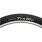"Continental Traffic Tire 26 x 2.1"" Black Steel"