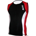 SLS3 FX Race Top: Black Red Chilli Icy