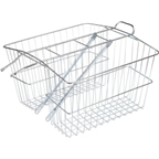 Wald 535 Rear Twin Carrier Basket: LG; Plated