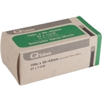Q-Tubes 700 x 35-43mm 48mm Long Schrader Valve Tube