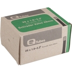 "Q-Tubes 29 x 1.9-2.3"" 48mm Long Schrader Valve Tube"