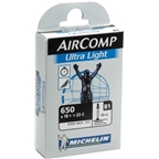 Michelin Aircomp UL 650 x 18-23mm 40mm Presta Valve Tube