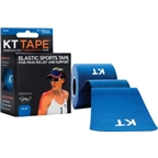 KT Tape Kinesiology Therapeutic Body Tape: Roll of 20 Strips; Blue