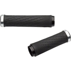 SRAM XX1 Locking Grips for GripShift - 100mm Right / 122mm Left with Silver Clamps and End Plugs