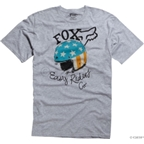 Fox Racing Easy Riders T-Shirt: Gray; LG