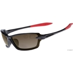 Dual Eyewear S4 Sunglasses: +2.0 Power Magnification; Black Frame/Brown Lens